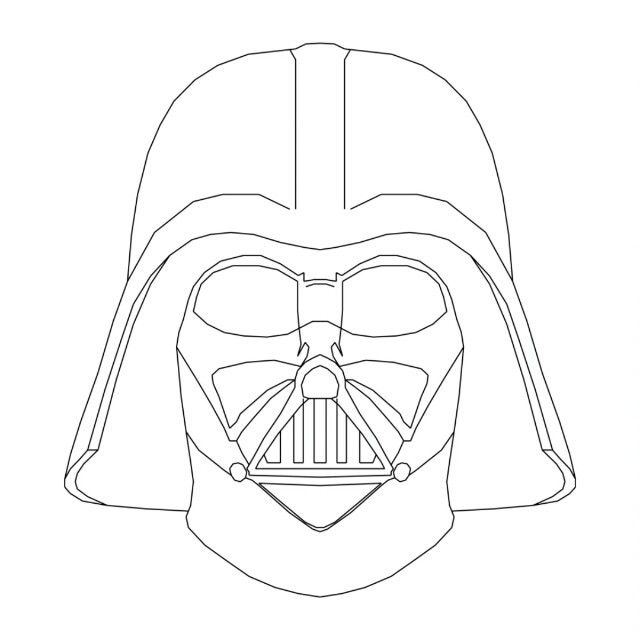 640x640 Styles How To Draw Darth Vader Face Together With Darth Vader