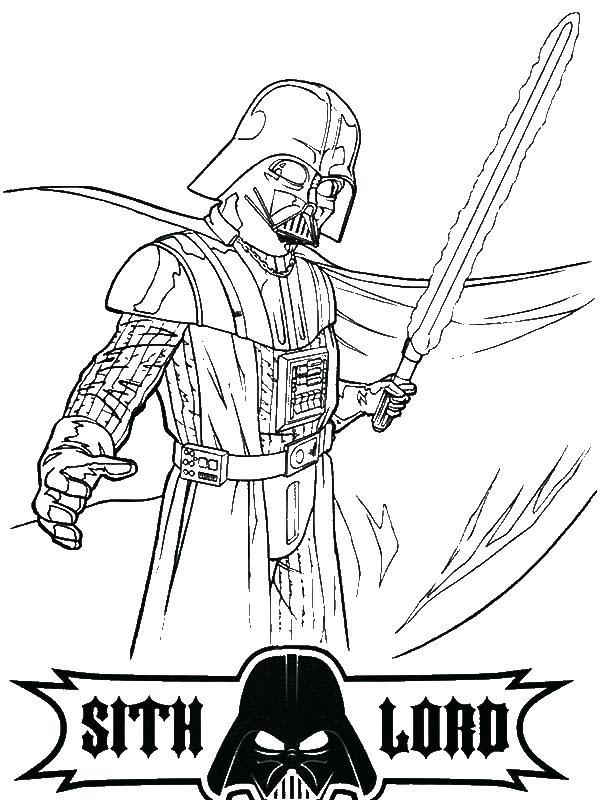 600x800 Darth Vader Coloring Page Print Free Coloring Pages Darth Vader