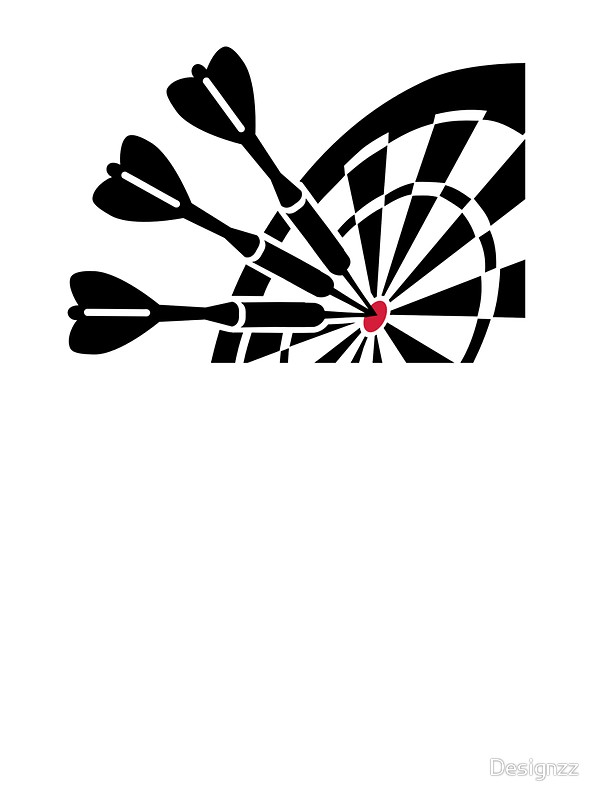 600x800 Darts Dart Board Stickers By Designzz Redbubble