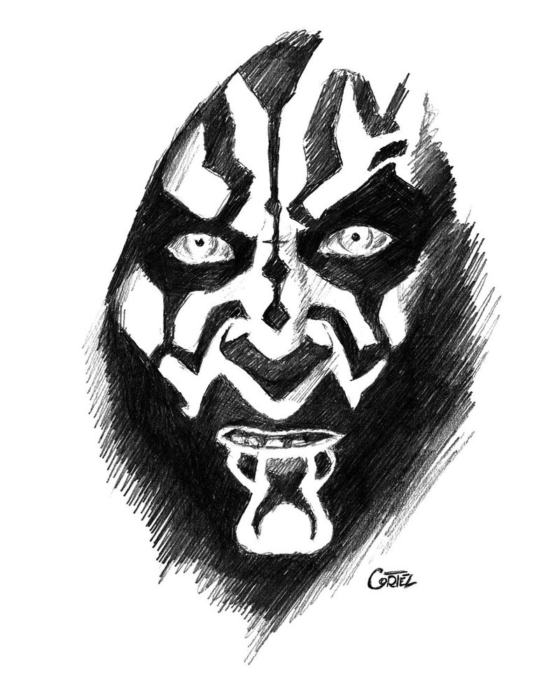 800x1000 Darth Maul By Sumo0172