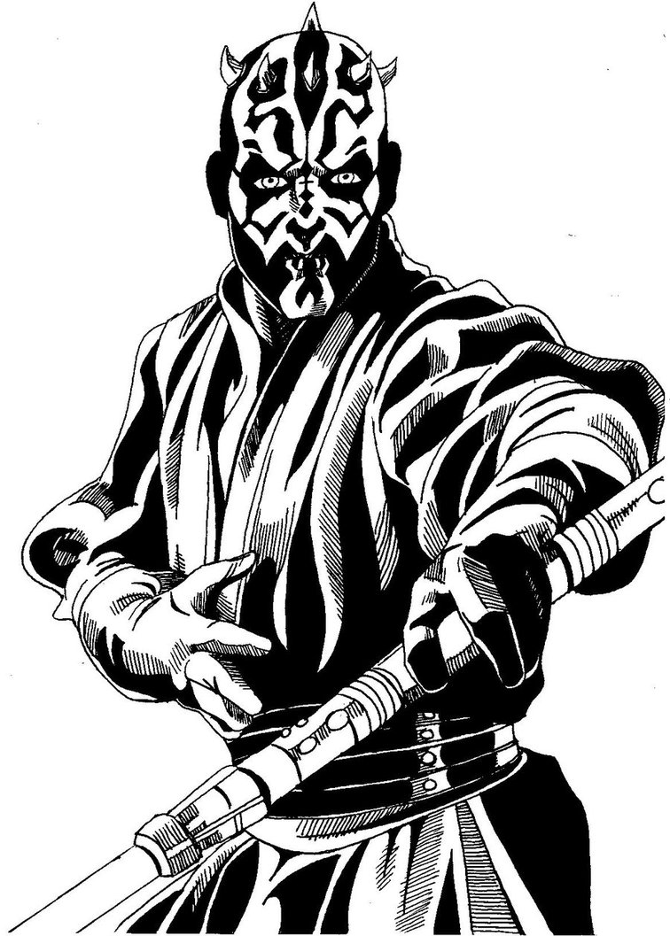 756x1057 Darth Maul By Greysummers610