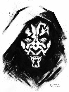 236x314 Darth Maul Inks By Seanforney On Lineart Star Wars
