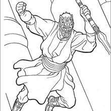 220x220 Darth Maul Coloring Pages