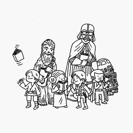 432x432 Jeffrey Brown Comics Darth Vader And Friends!