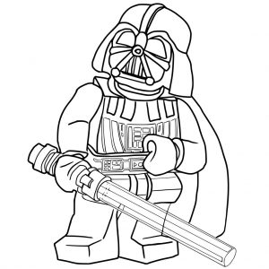 300x300 Star Wars Darth Vader Coloring Pages Kids Pig Christmas Head Stock