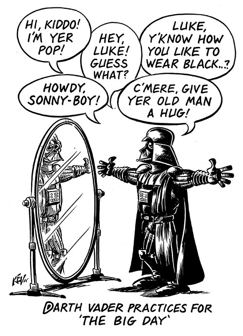 500x689 Darth Vader Kev Brockschmidt, Illustrator