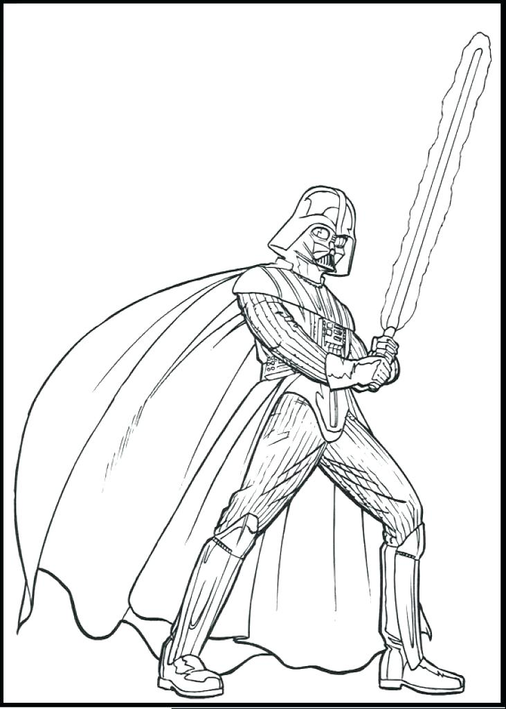 731x1024 Darth Vader Pictures To Color Coloring Pages Star Wars Movie Darth