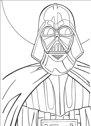 349x480 Darth Vader Coloring Page Free Printable Coloring Pages