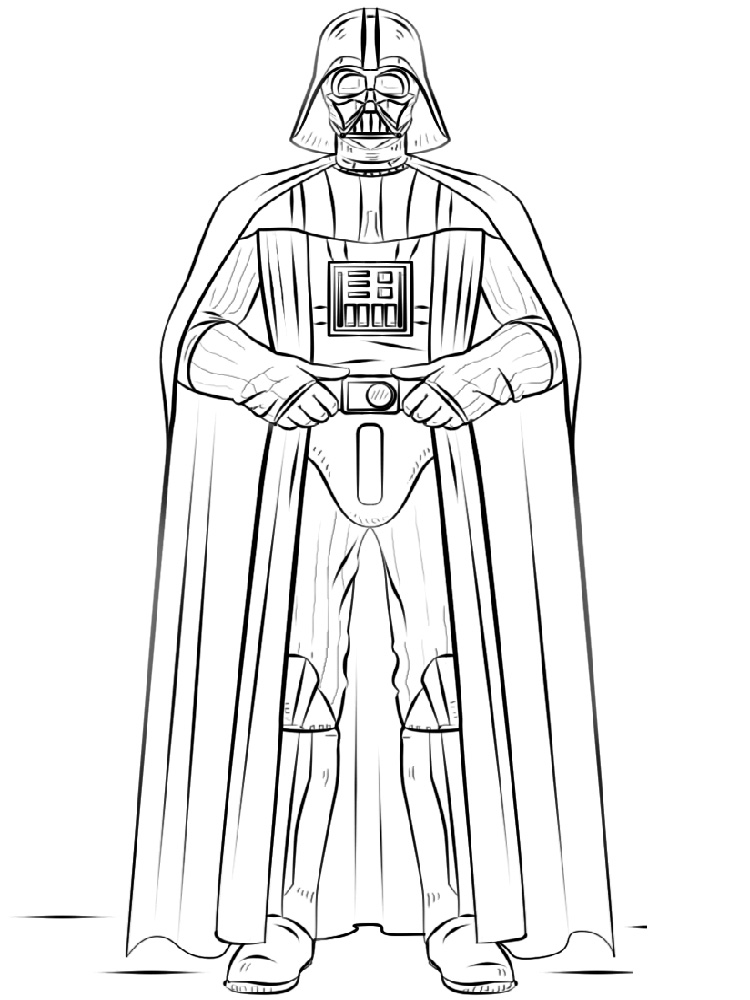 750x1000 Darth Vader Coloring Pages. Free Printable Darth Vader Coloring Pages.