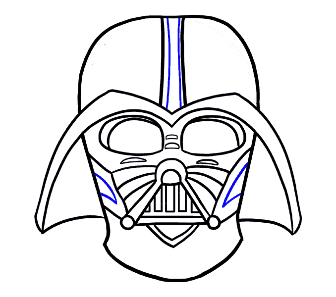 Darth Vader Drawing For Kids at GetDrawings.com | Free for personal ...