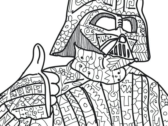 570x427 Darth Vader Coloring Pictures Star Wars Coloring Pages Darth Vader