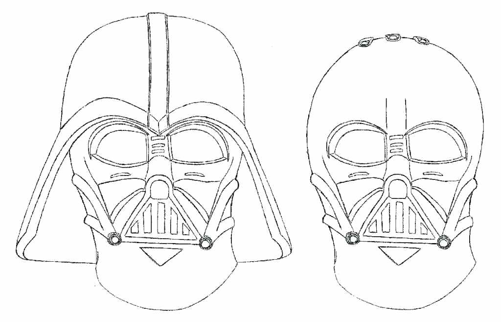 1024x657 Darth Vader Coloring Page Tie Fighter Colouring Pages Darth Vader