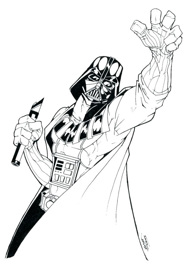 640x921 Darth Vader Coloring Pages Pictures To Color Coloring Pages