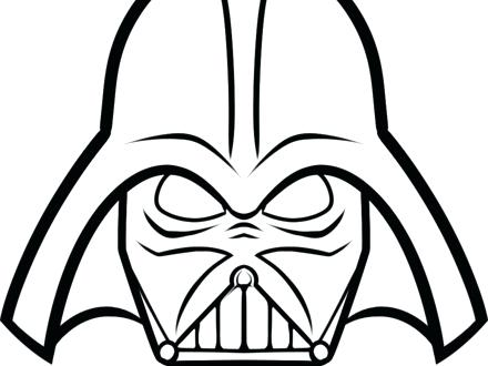 graphic regarding Darth Vader Printable Mask identify Darth Vader Thoughts Drawing at  Free of charge for
