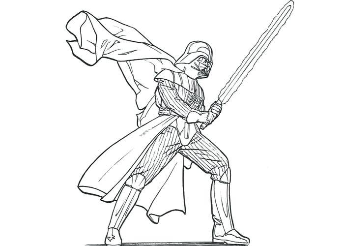 700x500 Darth Vader Pictures To Color Coloring Pages Star Wars Movie Darth