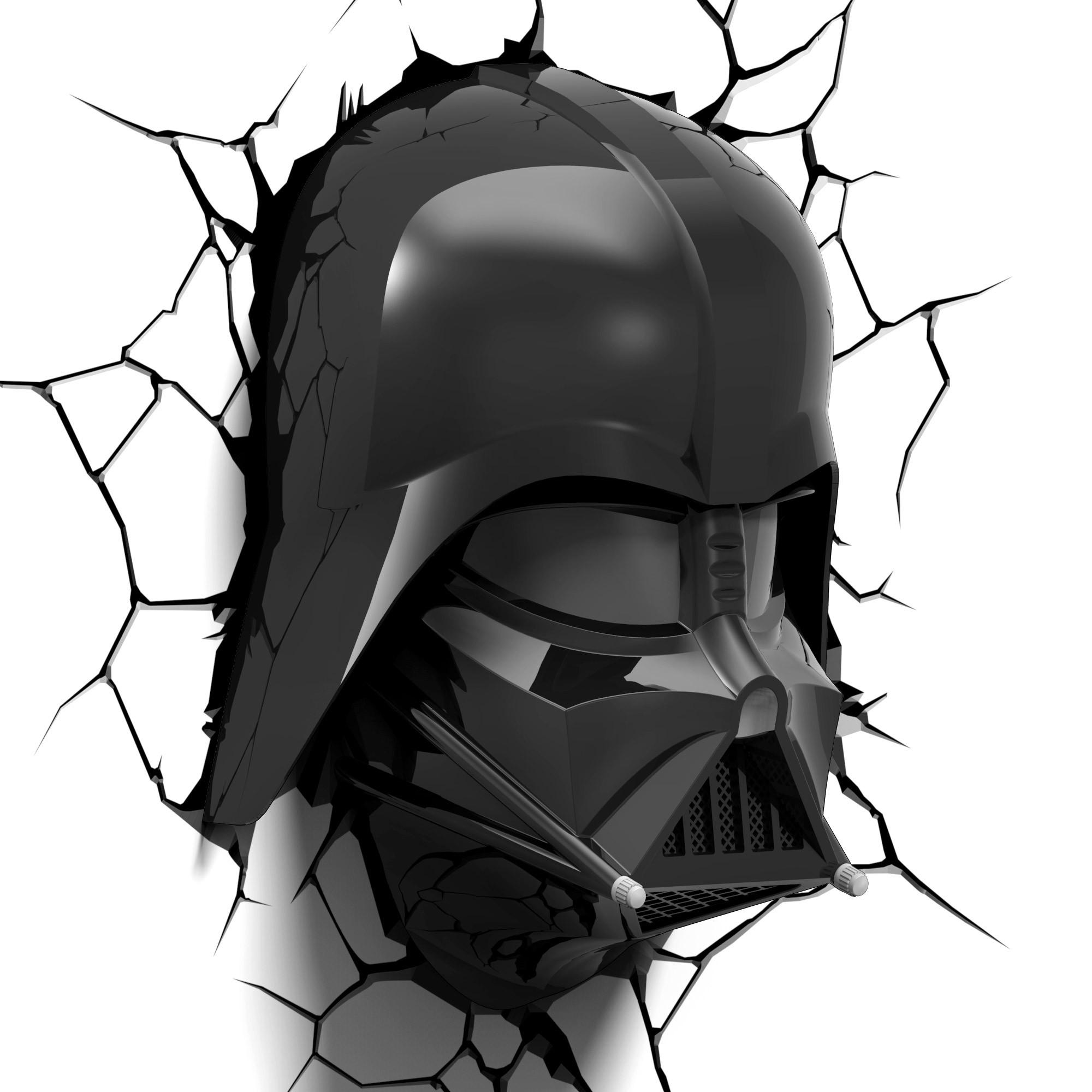 2000x2000 Star Wars 3d Wall Art Light Amp Remote Darth Vader Head This
