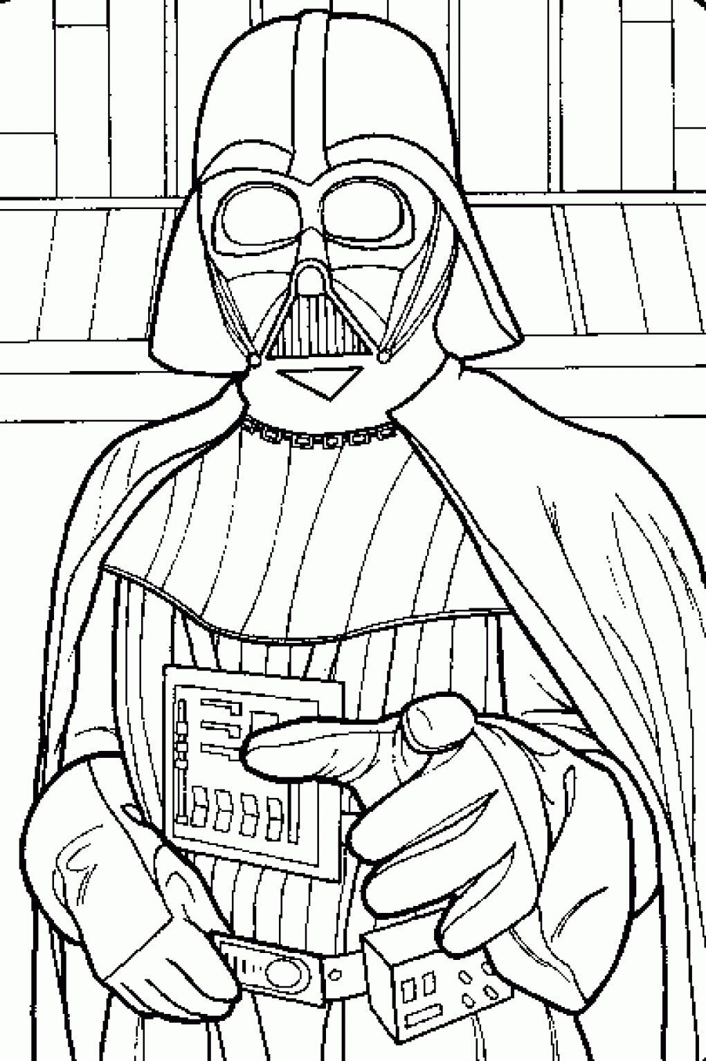 1020x1533 Kylo Ren Mask Coloring Pages Fresh Star Wars Coloring Pages Darth