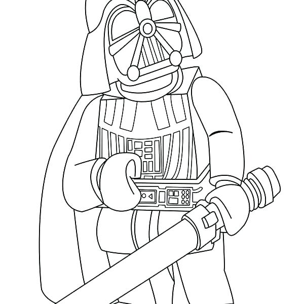 600x600 Darth Vader Coloring Page Drawn Coloring Page 2 Lego Darth Vader