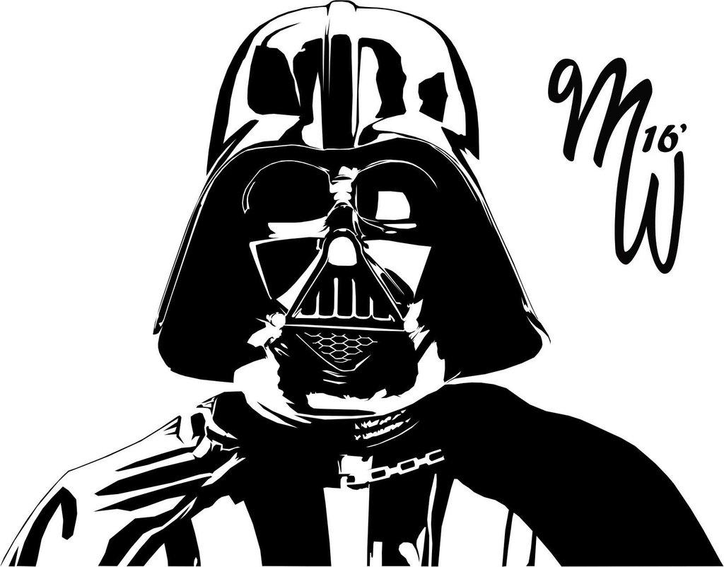 Line Drawing Yoda : Darth vader line drawing at getdrawings free for personal