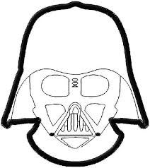 212x238 Darth Vader Mask Coloring Sheet F On Darth Vader Coloring Pages