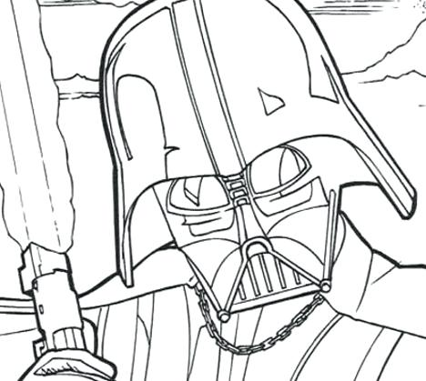 468x419 Darth Vader Pictures To Color Coloring Pages Star Wars Movie Darth