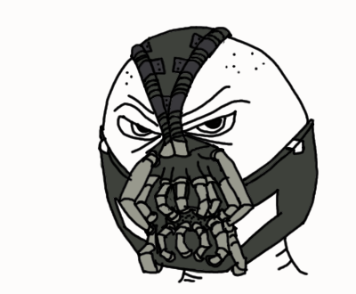 400x330 Bane Sketch By Luke The F0x