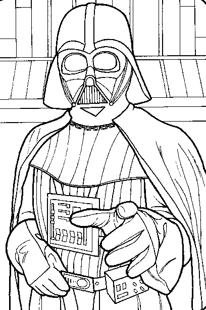 408x612 Free Darth Vader Embroidery Pattern From Make Do N Mend