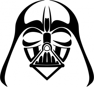 302x278 How To Draw Tribal Darth Vader
