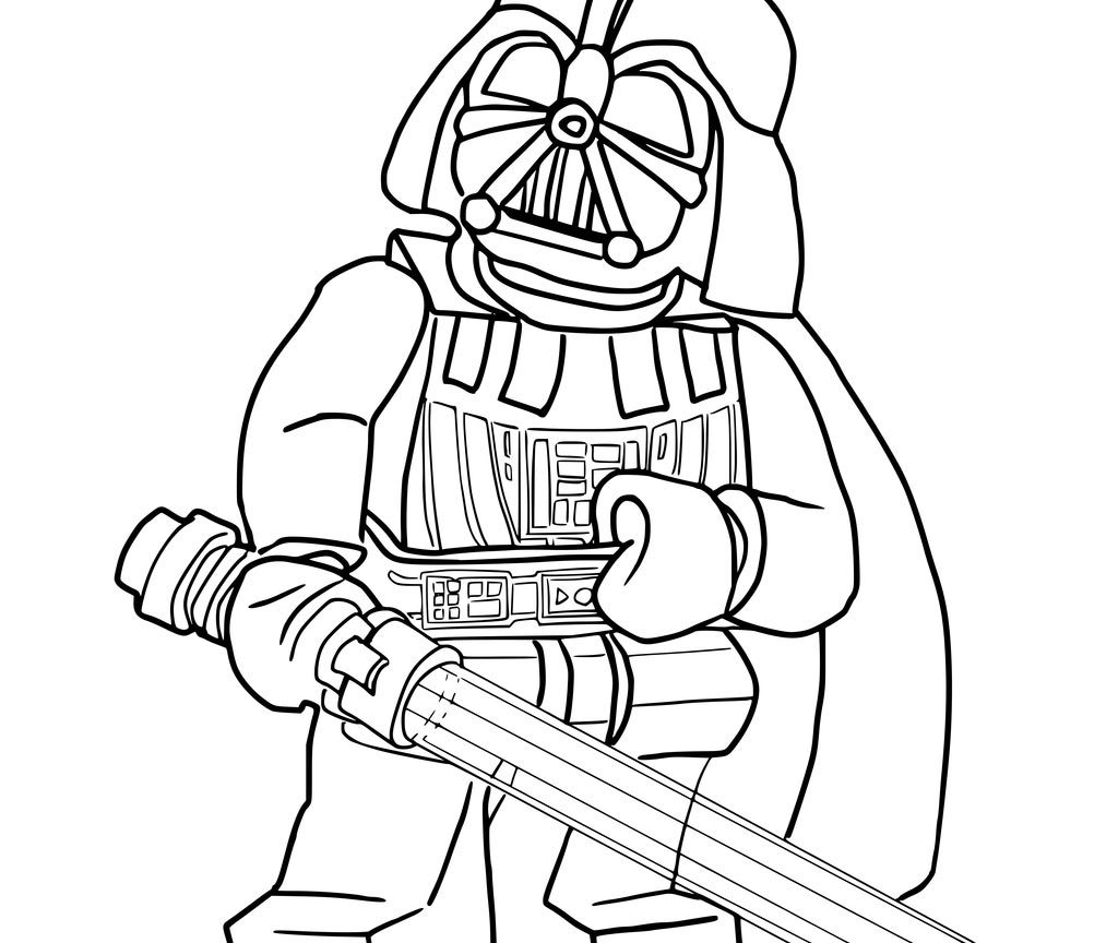 1024x864 Creative Ideas Darth Vader Coloring Pages Star Wars Kids Lego