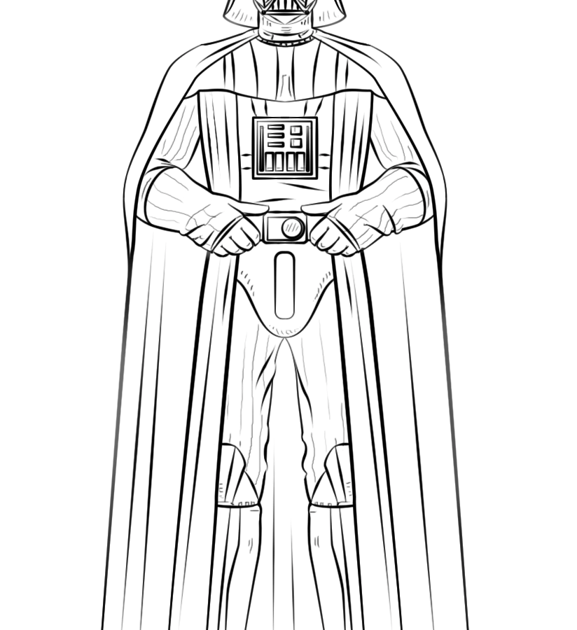 824x900 Marvelous Lego Darth Vader Coloring Pages Star Wars Kids Mask