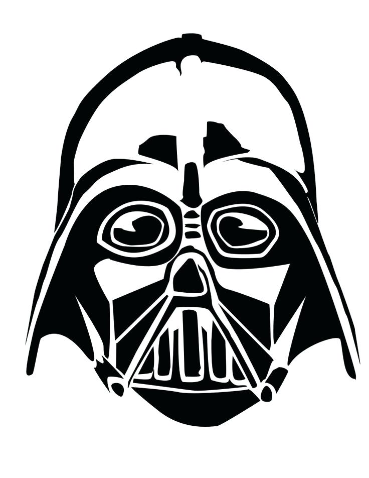 736x952 Printable Darth Vader Mask Stencil Free Download Printable Darth