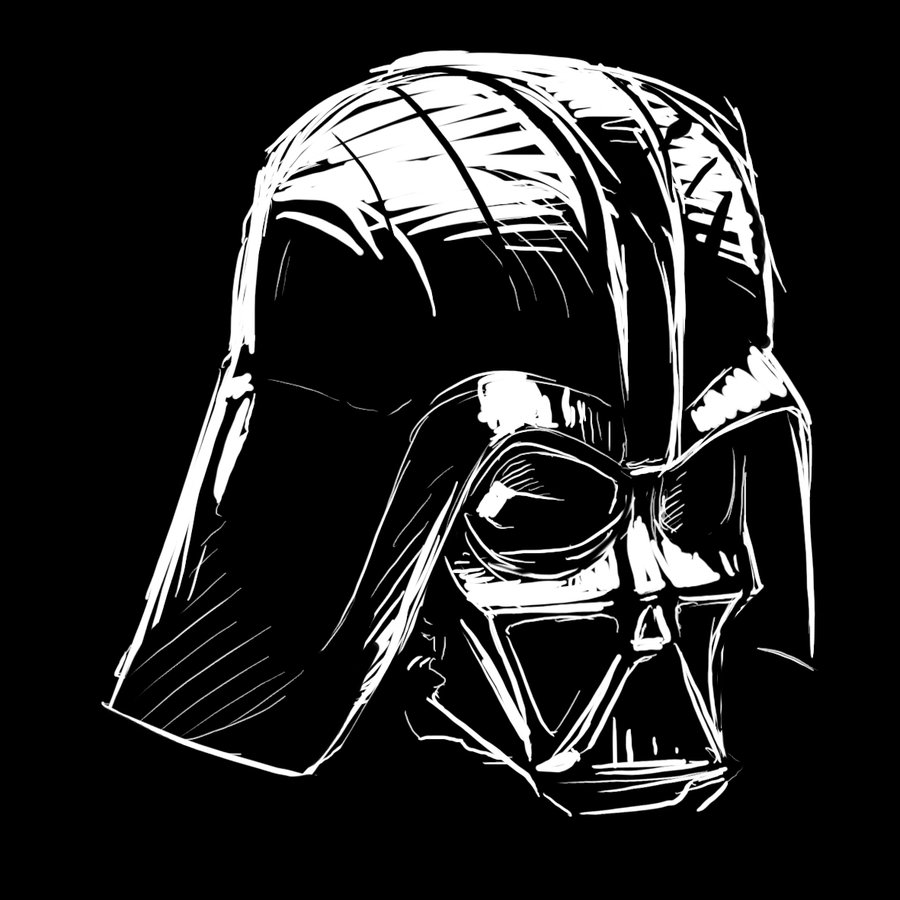 900x900 Styles How To Draw Darth Vader Face Together With Darth Vader
