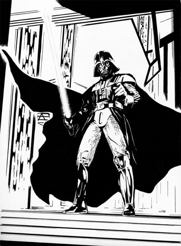 591x800 Darth Vader, In Jason Baroody's Misc Artwork Comic Art Gallery Room