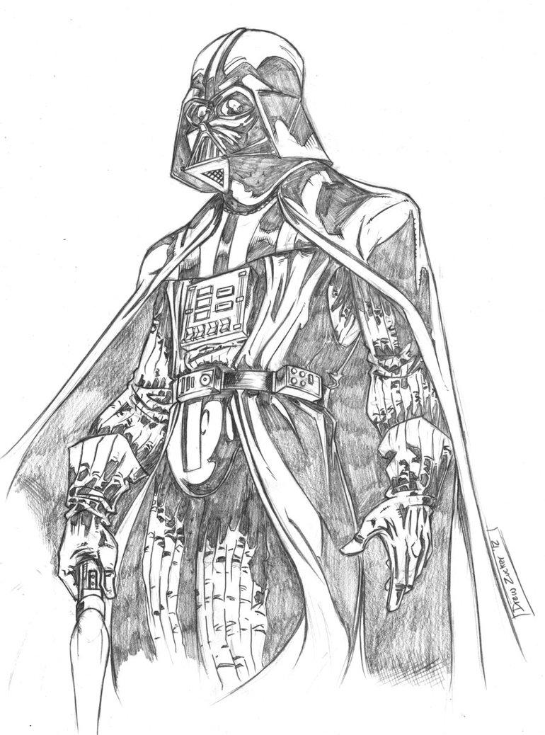 770x1038 Darth Vader By Fireclerk12