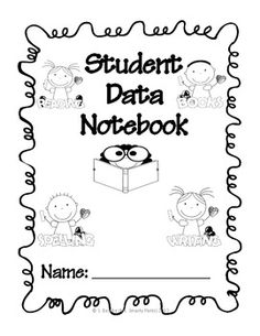 236x305 Weekly Spelling Test Student Data Notebook Sheet Student Data
