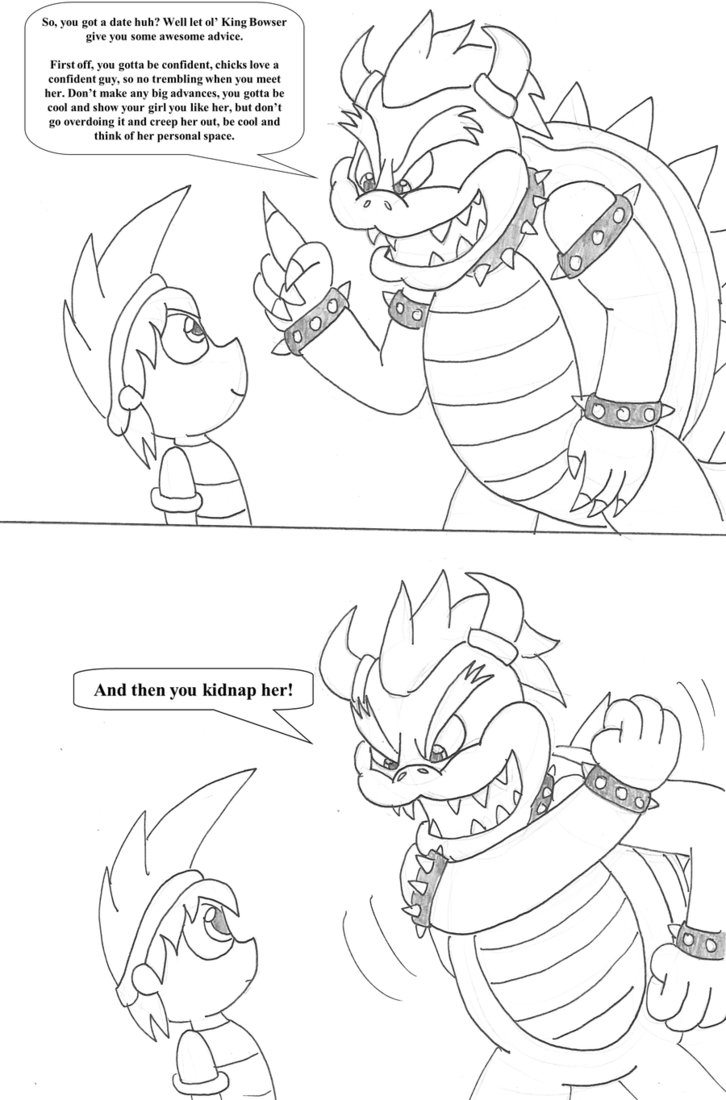 726x1100 Bowser's Dating Advice By Tman5636