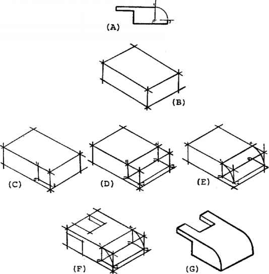 534x543 Figure Solution To Isometric Drawing Problem Using An Isometric