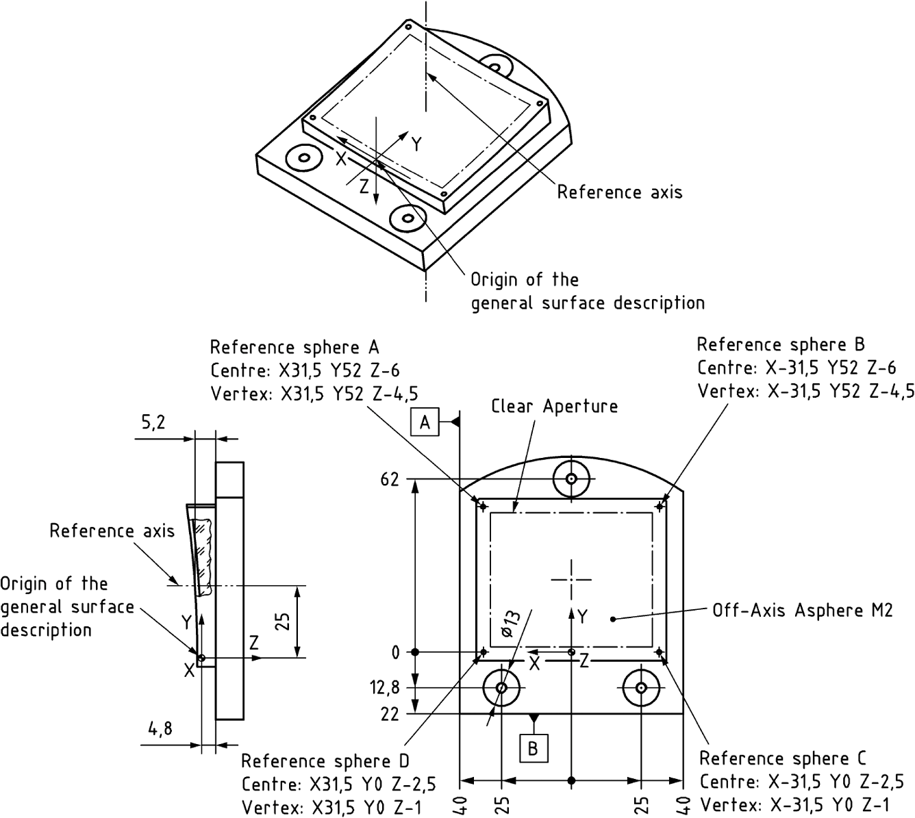 1336x1195 Implementing Iso Standard Compliant Freeform Component Drawings