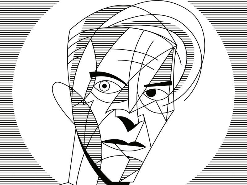 800x600 Homenaje Ilustrado A David Bowie Bowie, David Bowie And Ziggy