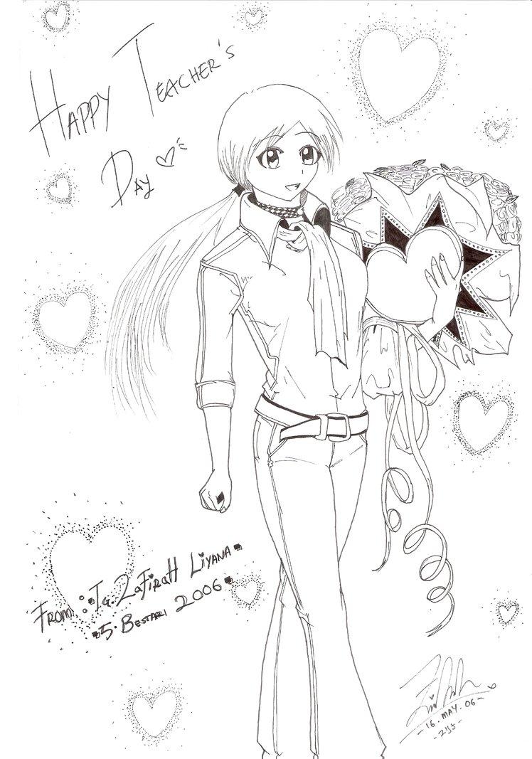 748x1067 Happy Teachers Day By Kazuikori