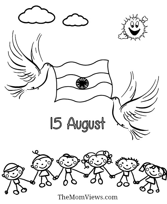 576x704 India Independence Day Charts India Independence