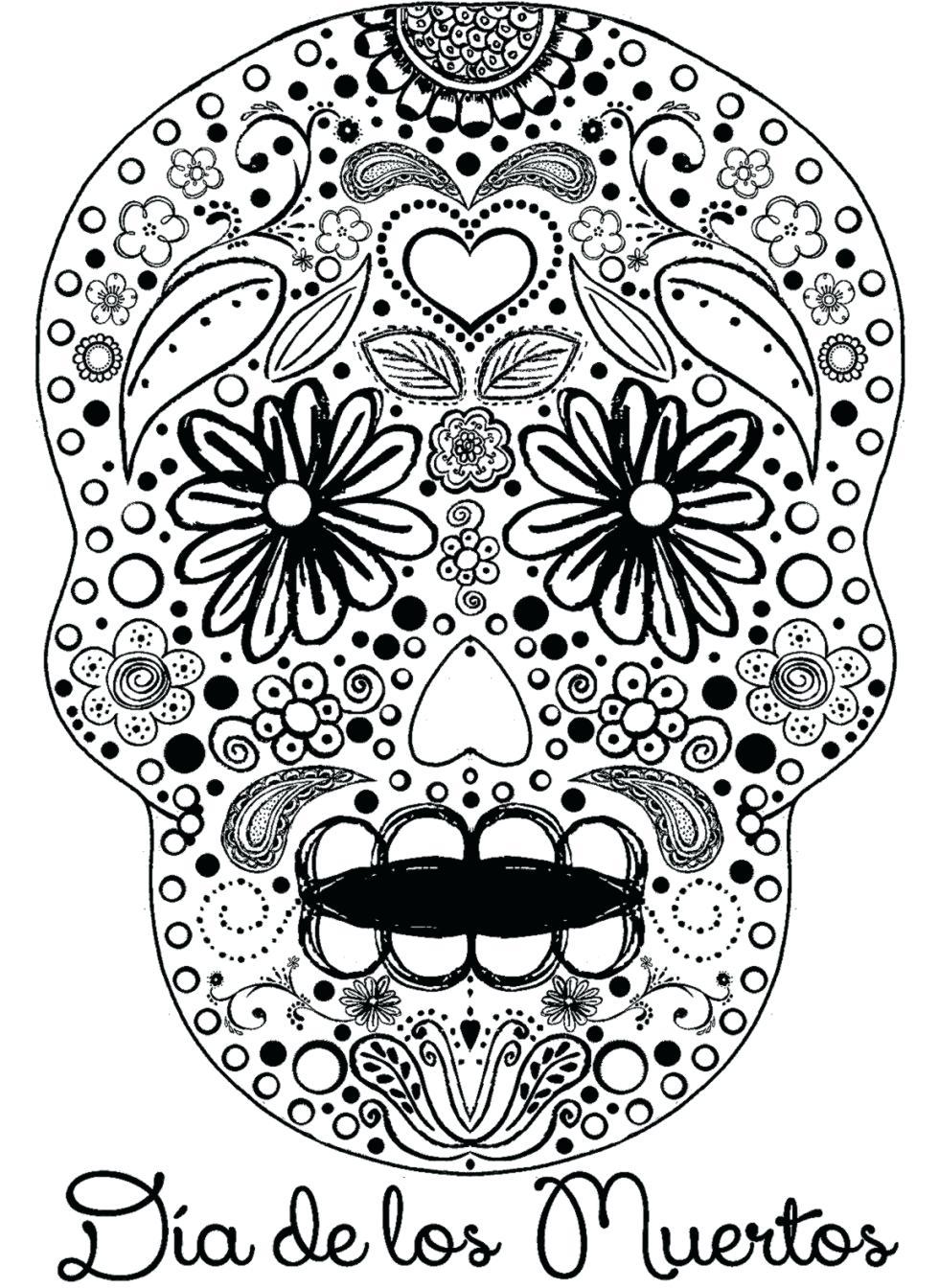 980x1344 Printable Nautical Skull Drawing Printable