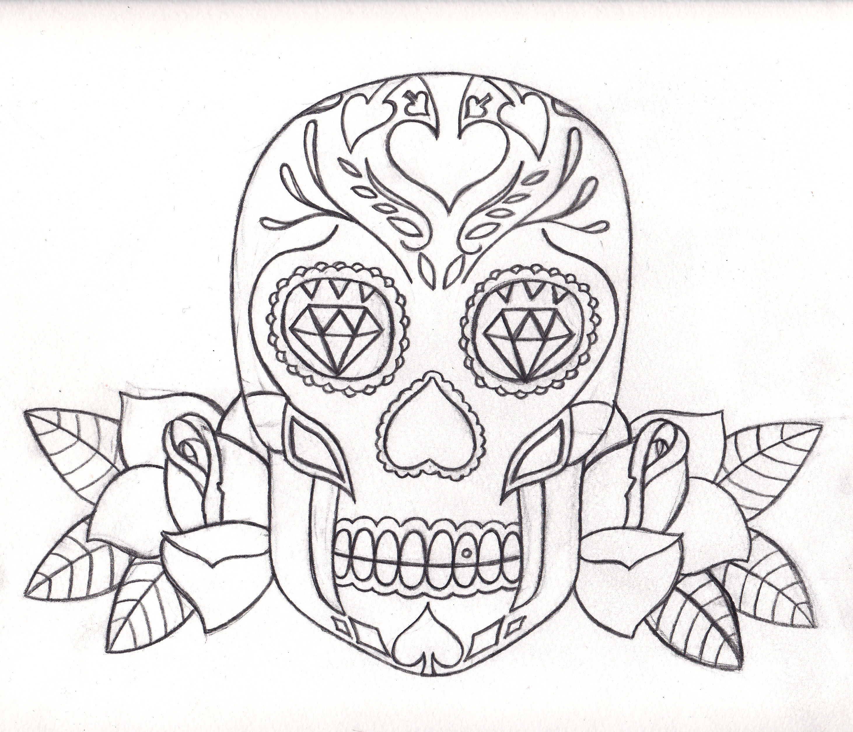 2924x2512 Day Of The Dead Stuff Unclefesta