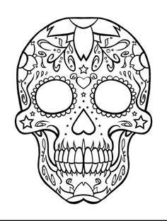 236x312 Rockabilly Sugar Skull 50's Vibe Sugar Skulls