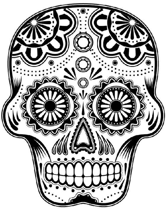 564x705 Sugar Skull Skulls Calavera Tattoo, Jersey