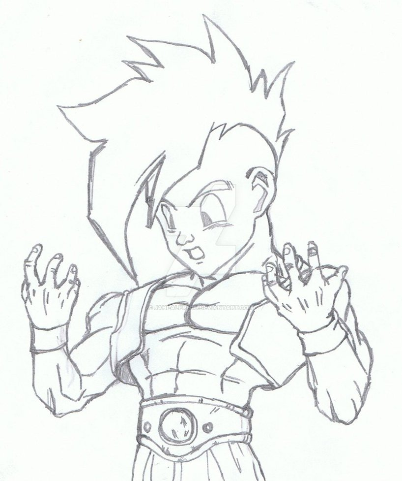 Dbz Drawing