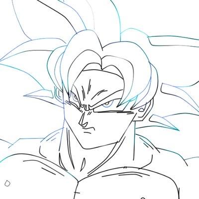 400x400 Dbz Drawing (@lcustoms986) Twitter