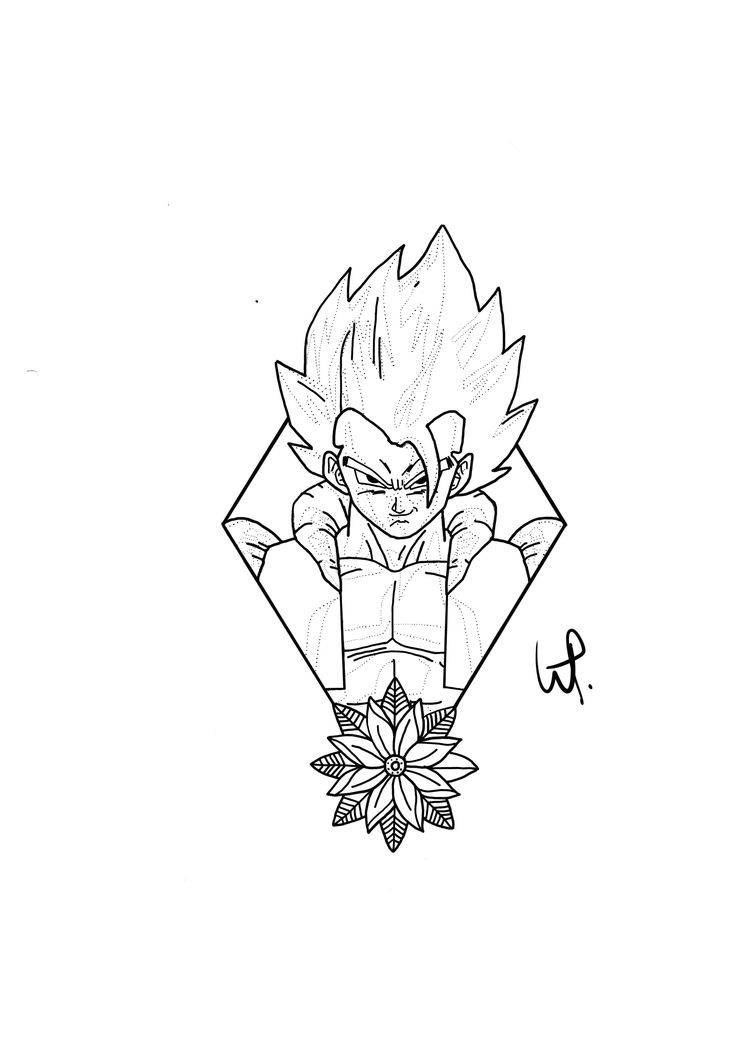 Dbz Goku Drawing