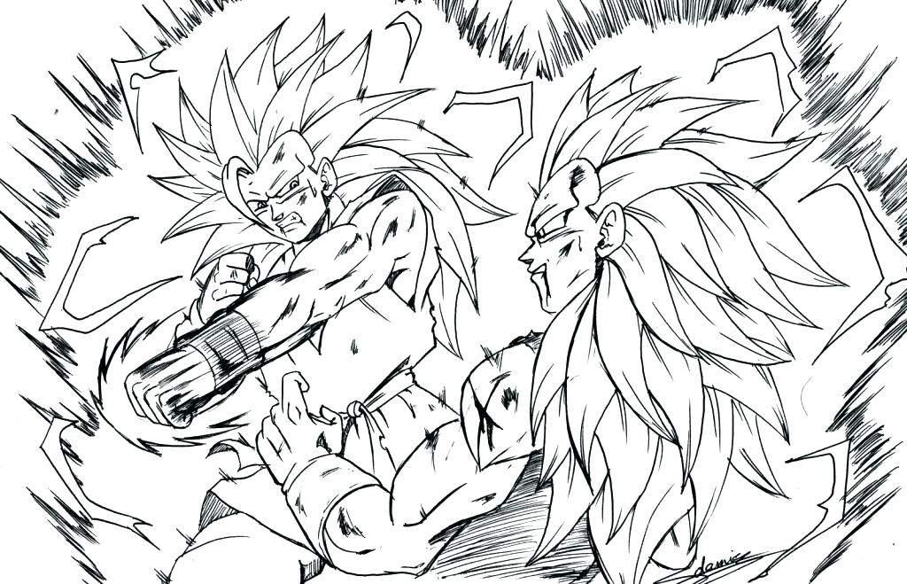 1024x659 Goku Coloring Page Dbz Goku Ssj God Coloring Pages 1table.co