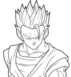 236x255 Gohan Ssj2 By Drozdoo Fan Art Digital Art Drawings